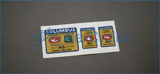 Bicycle Columbus Gilco MS Design Doppio Spessore Frame & Fork Decals Stickers
