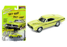 1969 Dodge Charger R/T Dirty Mary Crazy Larry 1/64 By Johnny Lightning JLCP6000