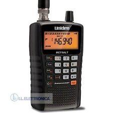 UNIDEN UBC 75 XLT Ricevitore PORTATILE SCANNER RADIO 300 canali AIRBAND 800105