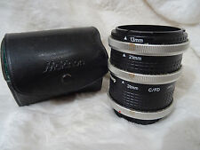 Jessop Extension Tube Set 13mm 21mm 31mm for Canon FD FL plus case canon
