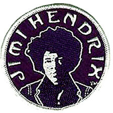 JIMI HENDRIX EXPERIENCE EMBROIDERED IRON ON PATCH woodstock grateful dead