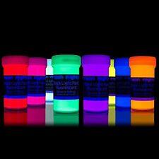 Schwarzlicht Neon fluoreszierende UV Farben für Kunst und Wohnraum