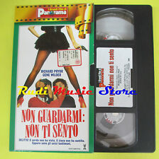 film VHS NON GUARDARMI NON TI SENTO Richard Pryor Wilder PANORAMA (F70) no dvd