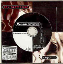 Venom-Cast en Stone rare cardcover CD black metal