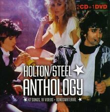 Gary Holton/Casino Steel - Anthology (2010)  2CD+DVD  NEW  SPEEDYPOST