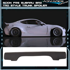 Fit For 13-17 Scion FRS Subaru BRZ GR V3 Style Trunk Spoiler PU