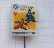 AUDI / VW  Jugendtreff 96 ... Anstecknadel / kein-Pin (k4/1)