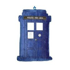 "Doctor Who TARDIS Cushion with Lights and Sounds 20"" x 10""  BBC Underground Toys"