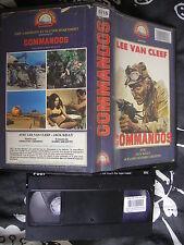 Commando de Armando Crispino, VHS Moonlight, Action/Guerre, RARE!!!