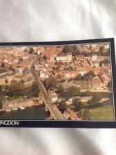 Postcard Unused 1988 Aerial View  Abingdon Pox26471 B1303