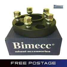 2x BIMECC Ford 20mm Hubcentric Wheel Spacers Bolt On 5x108 Focus MK2 MK3 RS ST