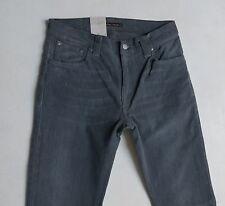 Nudie Men Jeans 32 W x 34 Thin Finn Organic Cotton Lighter Shade New with Tags