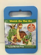 LAND BEFORE TIME BIG FREEZE/JOURNEY TO BIG WATER (DVD, 2008) NEW Activity Book