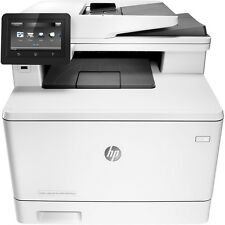 HP - Refurbished LaserJet Pro MFP m477fnw Color All-In-One Printer - White