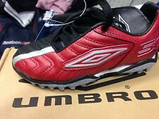 UMBRO SPECIALI black footbal trainerst in leather size 10 11 12 1 2 r. uk at £10