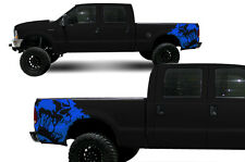 Vinyl Rear Decal Scream Wrap Kit for Ford F-250/F-350 Truck 1999-2006 Azure Blue