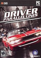 Video Game PC Driver Parallel Lines by ubisoft NEW SEALED BOX