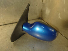 Renault Clio Sport 172 182 2000-05 Passenger Side NS Wing Mirror In Blue D43 VGC