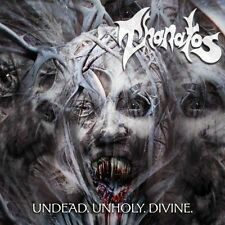 Thanatos - Undead.Unholy.Divine CD 2014 reissue death metal bonus track