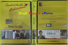 DVD film POIROT E LA SALMA Agatha Christie collection 2005 SIGILLATO no vhs(D6)