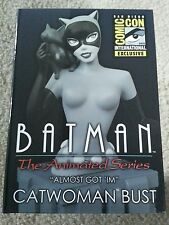 SDCC 2015 Batman the Animated Series Catwoman Bust in box 491 of 1100