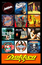 "DOKKEN album discography magnet (4.5"" x 3.5"") great white ratt poison warrant"