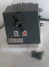 FVK421R GE 30amp 240volt 4 wire style 2 bus switch (new)