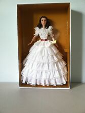 SCARLETT O'HARA BARBIE~GONE WITH THE WIND~WHITE PRAYER DRESS~NIB WITH SHIPPER