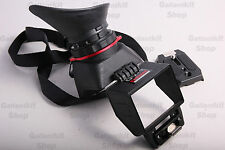 "Universal Foldable 3.2"" 2.5X LCD View Finder Viewer Extender for DSLR Camera EOS"