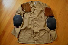 Vintage BOB ALLEN Shooting Hunting Field Cruiser RUBBER ELBOW PADS Jacket 42