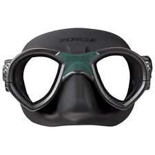 ~ ~ ~ SporaSub Mask Black Silicone Low Volume/Freediving/ Mystic Mask ~ ~ ~