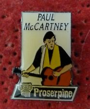 PIN'S MUSIQUE CHANTEUR PAUL MC CARTNEY THE BEATLES COLLECTION PROSERPINE