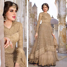 Indian Designer Bollywood Salwar kameez Anarkali pakistani Wedding Dress fabrics