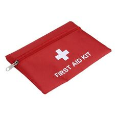 1.4L PVC First Aid Kit Red Camping Emergency Survival Bag Bandage Drug QT