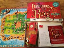 THE DANGEROUS BOOK FOR BOYS Game Parker Childrens Family Board Game