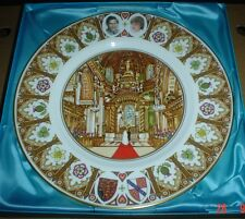 Coalport Large Royal Wedding Plate Boxed CHARLES AND DIANA 1981
