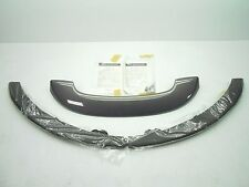 NEW GENUINE OEM MAZDA CX-7 CX7 REAR SPOILER & FRONT AIR DAM KIT GRAY 2007-2009
