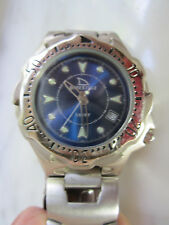 Men's Freestyle Sport Quartz Wristwatch with Matching Band Bracelet