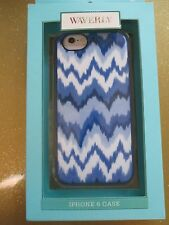 NEW Waverly iPhone 6/6S Phone Case Cover Single Piece Blue White