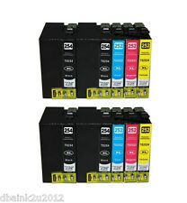10 Pk Epson T252XL Ink Cartridge for EPSON Workforce WF-3640, WF-7620, WF-7610