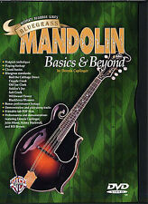 MANDOLIN DVD Bluegrass Basics & Beyond Learn Lesson TAB EASY CHORDS PICKING SONG