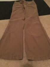 Aeropostale Womens Pants Sz 1/2 Regular Clothes Brown