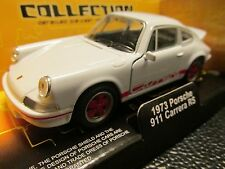 PORSCHE CARRERA 911 RS WELLY DIE CAST MODEL 1/38 SCALE PULL BACK MOTOR NEW BOXED