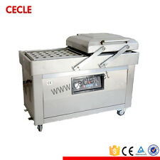 Double Chamber Vacuum Machine DZ400/2C Vacuum Packing Machine