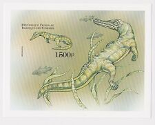 Comoros - Dinosaurs, Prehistoric Animals, 1999 - Sc 893 S/S MNH - IMPERFORATE