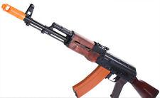 APS Full Metal AK74  EBB Airsoft AEG Rifle w/Real Wood Furniture & Mosfet system