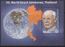 SCOUTS : 2003 PALAU World Scout Jamboree Thailand Min Sheet SGMS1939 MNH