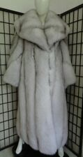 BRAND NEW NORWEGIAN (BLUE) FOX FUR COAT JACKET WOMEN WOMAN SIZE ALL