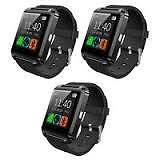 Touch Screen Smart Watch Set of 3 (Black)