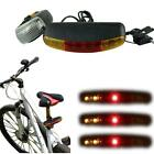 3in1 7 LED Bicycle Bike Turn Signal Directional Brake Light Lamp + Horn Newest